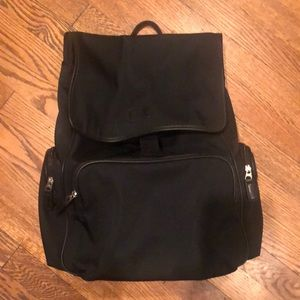 Coach black backpack